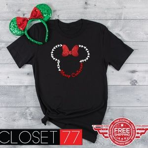 17f14d27a8c11 Tops - Minnie Merry Christmas disney inspired shirt new